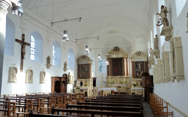 Saive Eglise Interieur